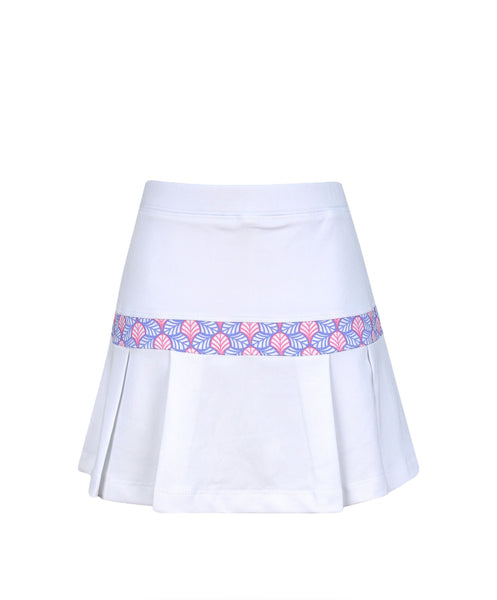 #Hula in Hawaii Skirt White - Little Miss Tennis