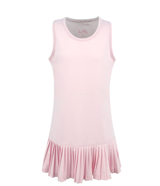 #Cotton Candy Pink Dress - Little Miss Tennis