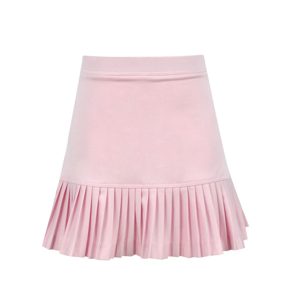 #Cotton Candy Pink Skirt - Little Miss Tennis