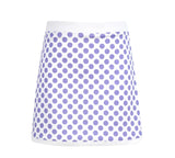 #Pretty in Provence Dot Border Skirt - Little Miss Tennis