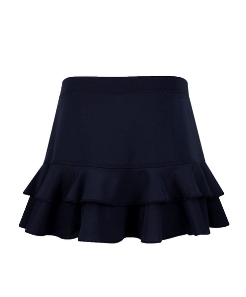 #Midnight in Malibu Skirt Black - New! - Little Miss Tennis