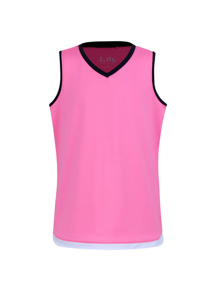 Midnight in Malibu Tank Pink - Little Miss Tennis
