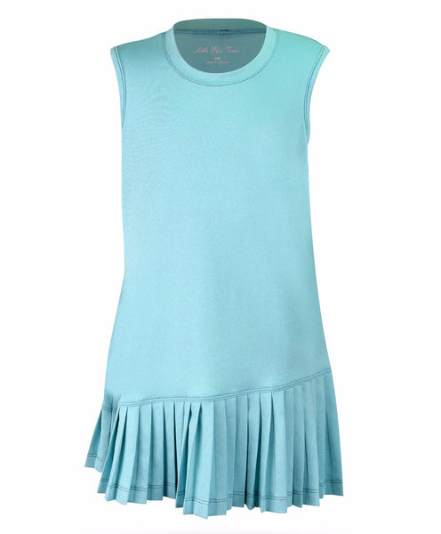 Believe Dress Teal - Little Miss Tennis