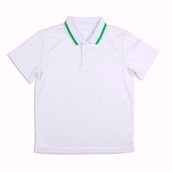 Boys Lime Polo - B32 New!