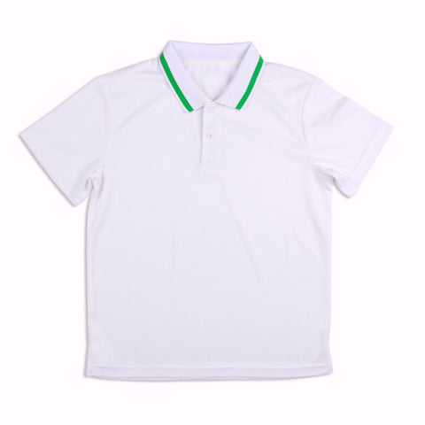 Boys Lime Polo - B32 - Little Miss Tennis