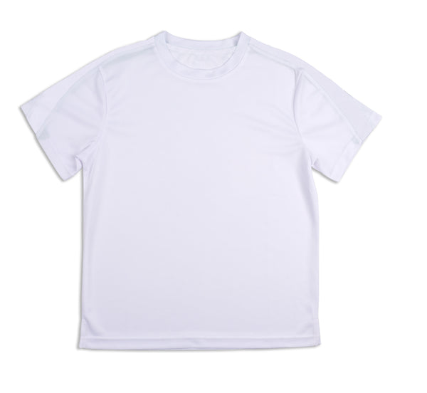 Boys White Crew - B73 New! - Little Miss Tennis