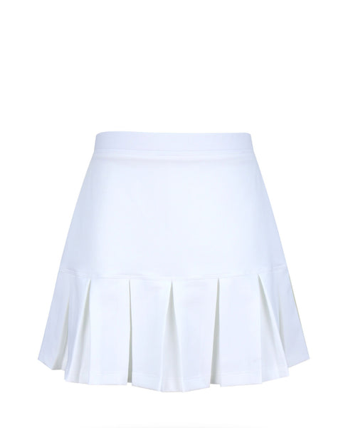 Cape May Skirt White - 4/5, 5,6, LG, XL - Little Miss Tennis