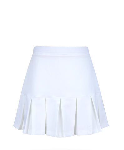 Cape May Skirt White - Little Miss Tennis