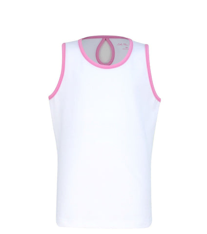 #Cape May Tank White - New! - Little Miss Tennis