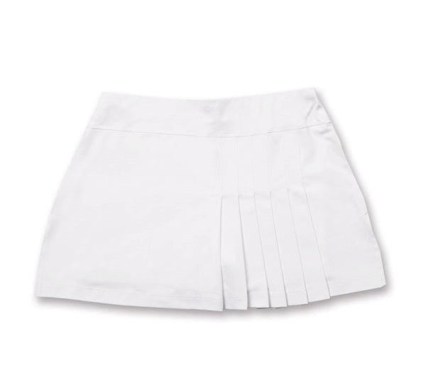 Everyday Club Skirt White - XL only - Little Miss Tennis