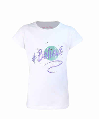 Believe Top Bling - Little Miss Tennis