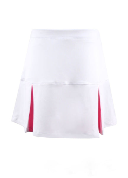 #Flamingo Beach White Skirt - New! - Little Miss Tennis