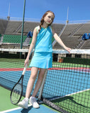 Paradise Palms Aqua Skirt - Little Miss Tennis
