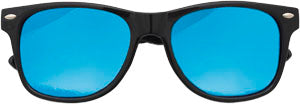 Sunglasses: Girls 5-8, Retro Black - Little Miss Tennis