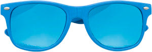 Sunglasses: Girls 5-8, Retro Aqua - Little Miss Tennis