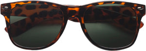 Sunglasses: Girls 5-8, Retro Tortoise - Little Miss Tennis