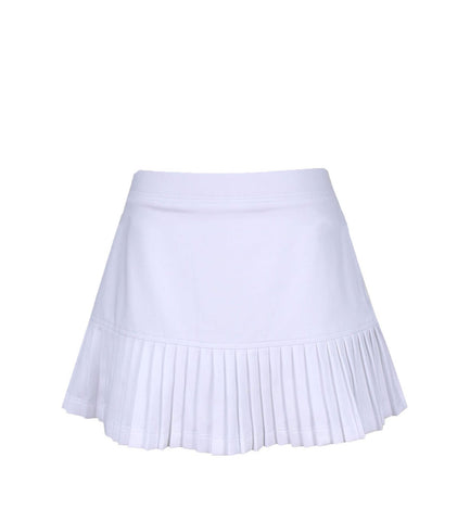 #Santorini Island White Skirt - Little Miss Tennis