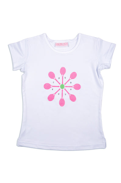 Meadow Lane Tee - Little Miss Tennis