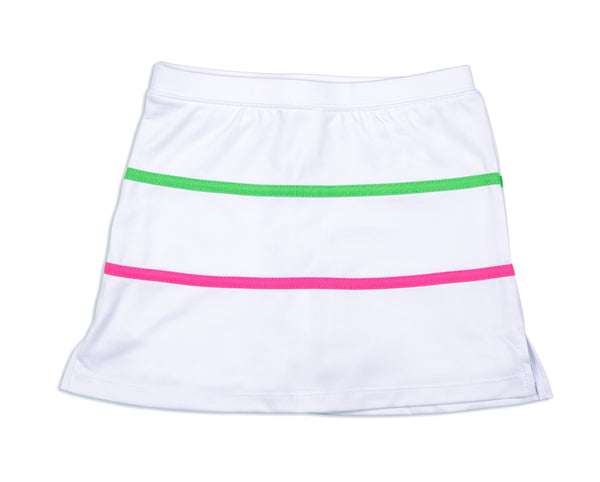 Meadow Lane Skirt White - Little Miss Tennis