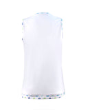 Chamonix Blossom Preppy White Tank - New! - Little Miss Tennis