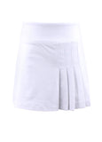 #Chamonix Blossom White Semi Pleat Skirt - New! - Little Miss Tennis