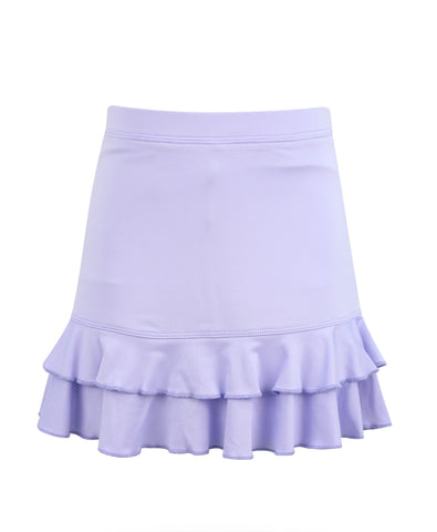 #A Lilac Lane Ruffle Skirt - New!