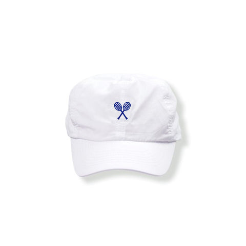 White Hat (Navy) - Little Miss Tennis