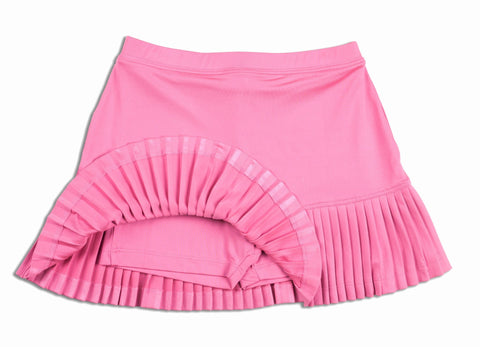 Bonjour Skirt Pink - Little Miss Tennis