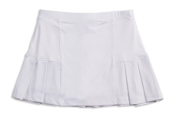 Candy Skirt White - Little Miss Tennis