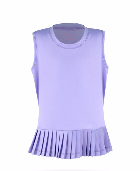 #Believe Top Lavender