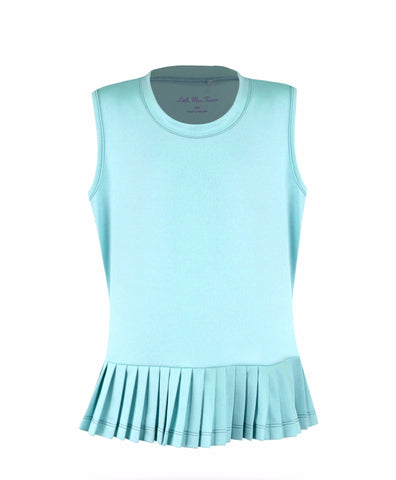 Believe Top Teal - Little Miss Tennis