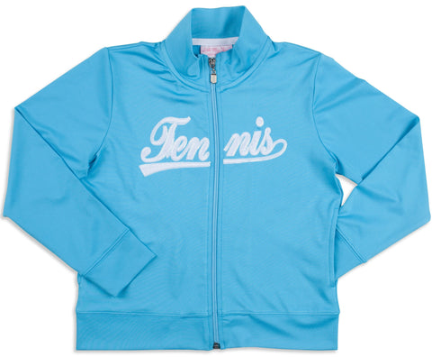 Twilight Blue Tennis Jacket - Little Miss Tennis