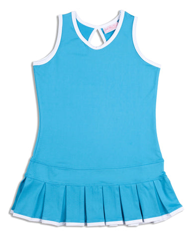 Twilight Blue Dress - 4/5 only - Little Miss Tennis