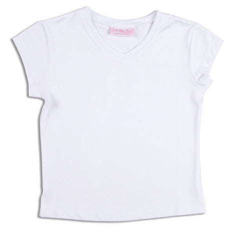 Top Classic White - Little Miss Tennis