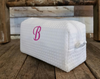 Waffle Cosmetic Bag (White) - Small