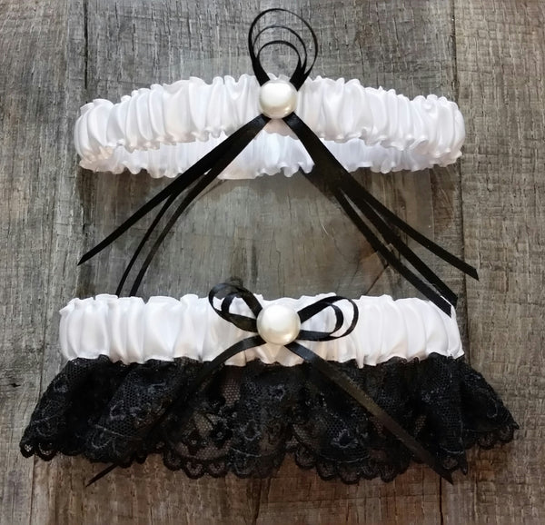 Garter Set - French Black