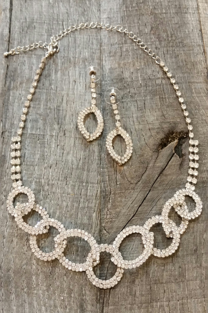 Necklace & Earring Set - Linked