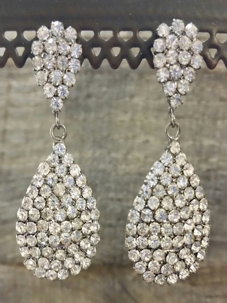 Dangled Earrings - Double Teardrop