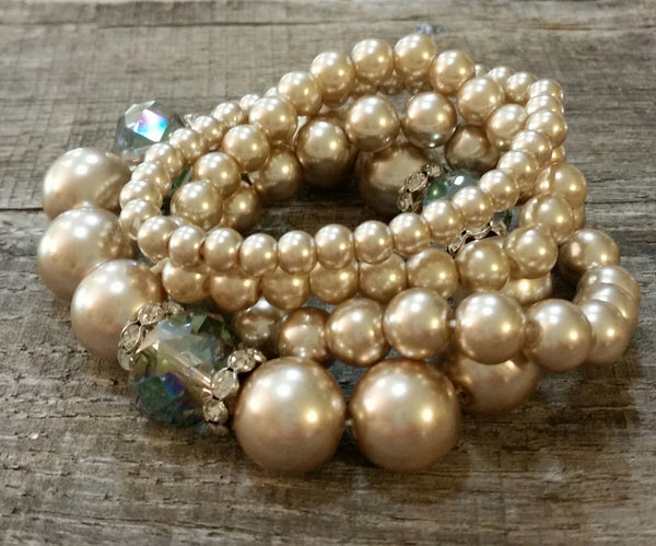 Bracelet - Accented Pearl