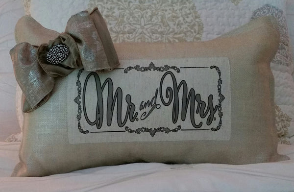 Pillow - Mr. & Mrs.
