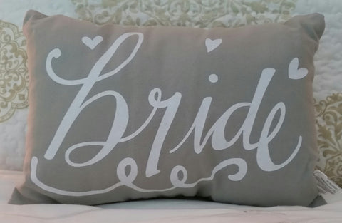 Pillow - Bride