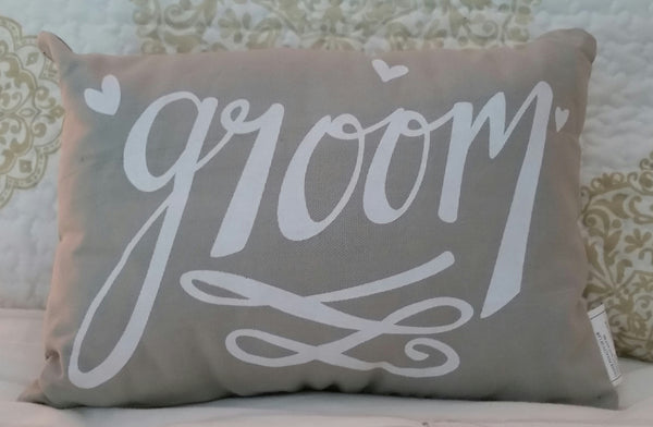 Pillow - Groom