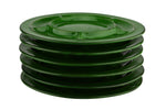 Thomas Flammfest Scandic Shadow Green Fondue Plates