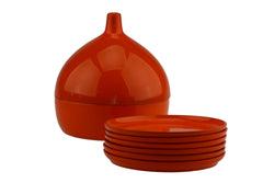 Laurids Lonborg Melamine Coasters Onion Shaped Container