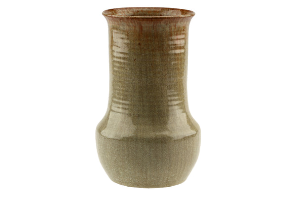 W.C. Brouwer Dutch Pottery Light Brown Vase