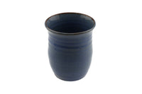 W.C. Brouwer Dutch Pottery Small Blue Vase