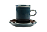 Arabia of Finland Meri Demitasse Coffee Cup and Saucer