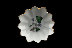 Hackefors Porslin Anemone Hepatica Leaf Shaped Small Dish
