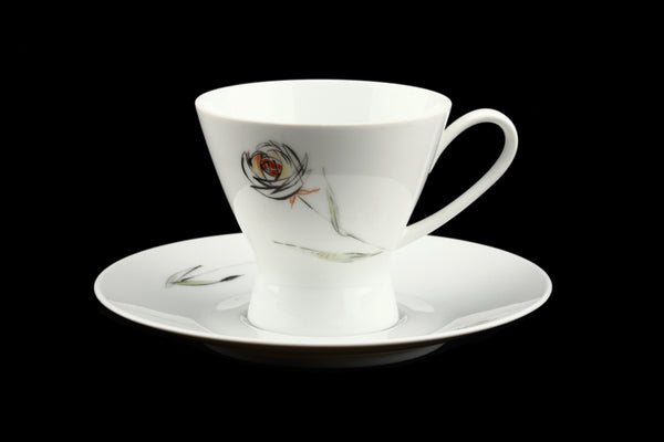 Rosenthal Studio Linie Raymond Loewy Porcelain Cup and Saucer