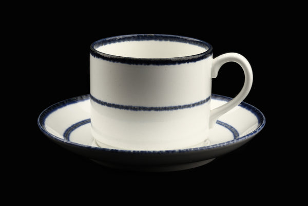 Rörstrand Sweden Fjord Coffee Cup and Saucer